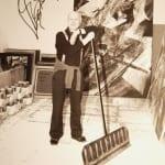 Karl Otto Götz im Atelier 1999