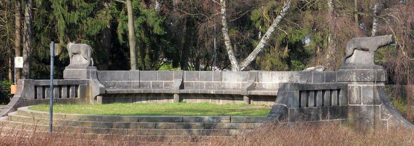Tritonenbrunnen in Aachen