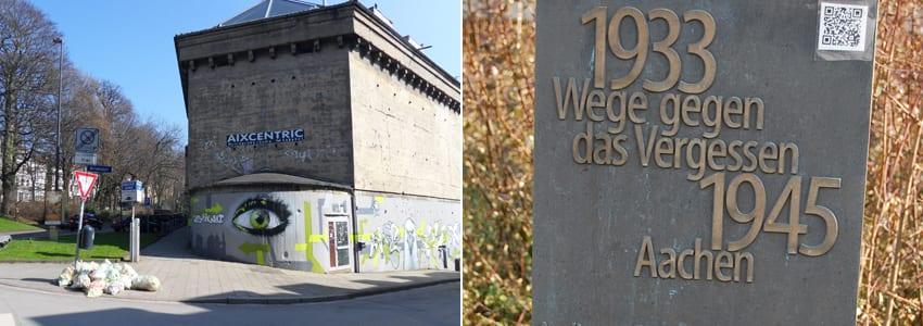 Wege gegen das Vergessen in Aachen – Texte