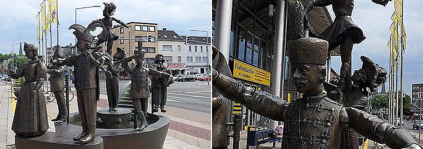 Karnevalsbrunnen in Alsdorf