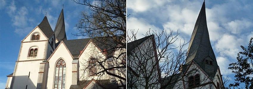 St Clemens Kirchturm in Mayen
