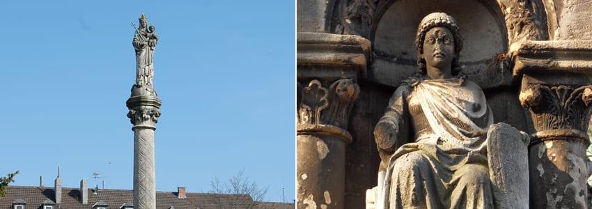 Mariensäule in Aachen von Wilhelm Pohl und Josef Laurent