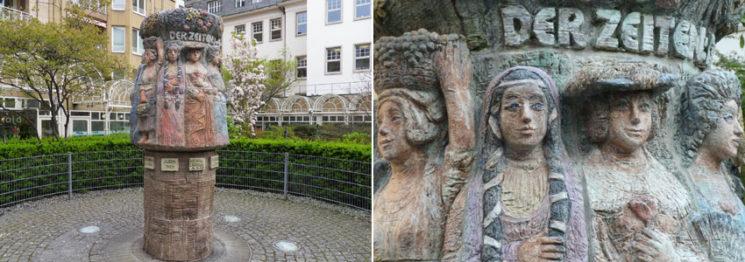 Frauenbrunnen von Anneliese Langenbach