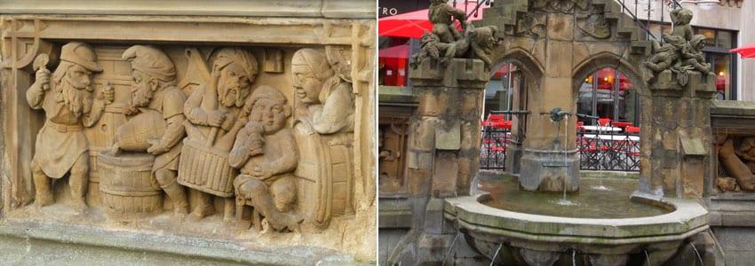 Heinzelmännchen – Brunnen von Köln