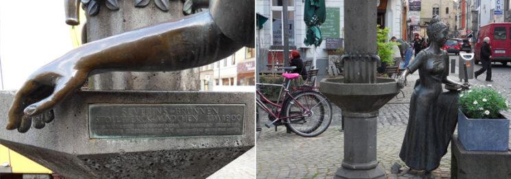 stollwerk-mädchen-in-köln von Sepp Hürten