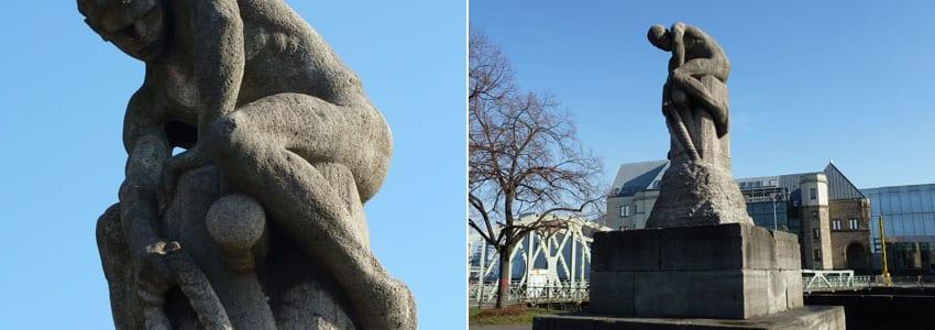 Tauzieher – Denkmal in Köln