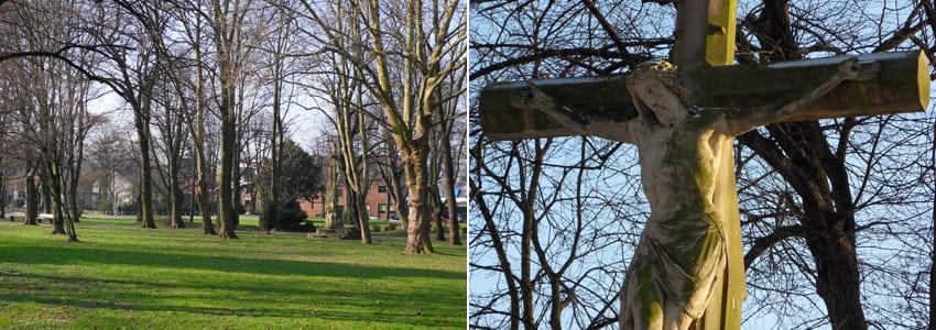 Hochkreuz im Adenauer Park