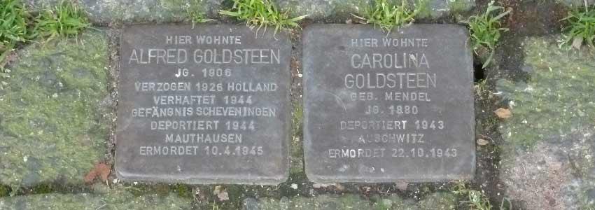Stolpersteine in Herzogenrath