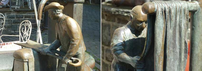 Tuchmacher Brunnen in Monschau