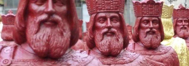 kaiser karl gestohlen in aachen