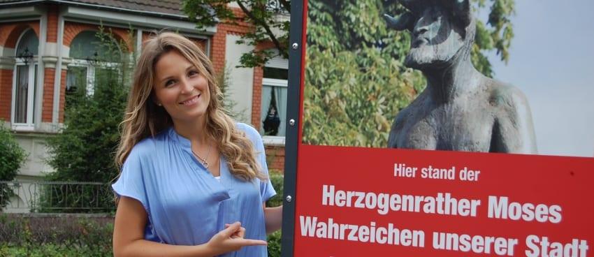 Entertainerin Sarah Schiffer