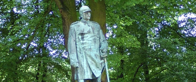 Bismarck-Denkmal in Hamburg - Altona