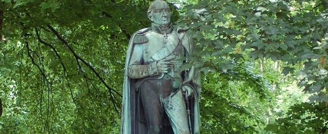 Blücher Denkmal in Hamburg Altona