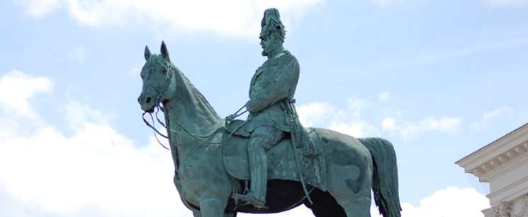 Kaiser-Wilhem-I-Denkmal in Hamburg-Altona von Gustav Heinrich Eberlein