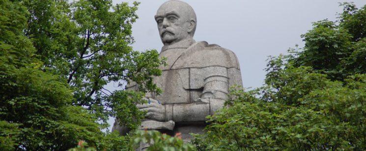 Bismarck-Denkmal in Hamburg von Hugo Lederer