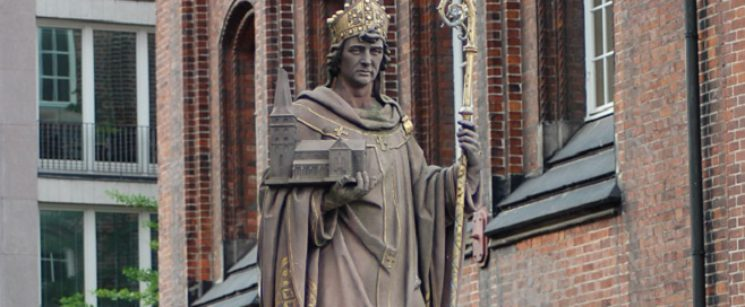 Erzbischof-St-Ansgar-Hamburg Denkmalplatz