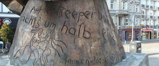 Hans-Albers-Denkmal in Hamburgie