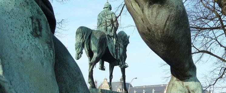 aiser-Wilhelm-I-Denkmal in Hamburg
