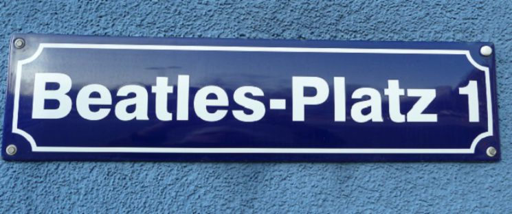 Beatles Platz in Hamburg St. Pauli Denkmalplatz