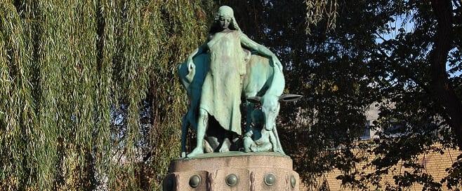 Genovevabrunnen in Mülheim