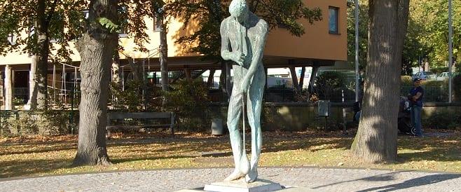 Glasbläserbrunnen in Quadrat Ichendorf von Gilbert Kroff