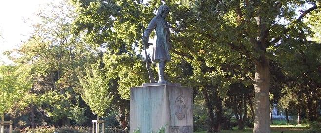 Jan Wellem Denkmal in Mülheim von Eduard Schmitz