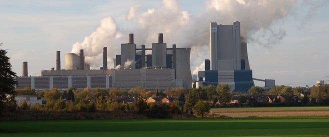 Kultur in Bergheim - Braunkohle - Kraftwerk in Bergheim