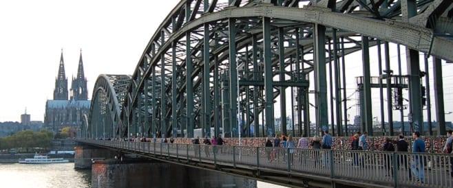 Liebesschlösser - Hohenzollernbrücke - Köln