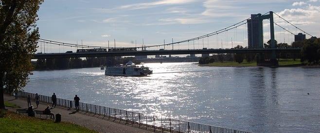 Mülheimer Brücke - Köln am Rhein
