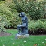 Rheinpark - Die Sinnende von Ludwig Kasper