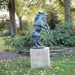 Rheinpark - Steigendes Pony von Renée Sintenis