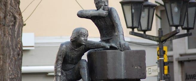 Bäckerjungen – Brunnen in Andernach