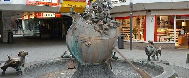 Erfinderbrunnen in Koblenz