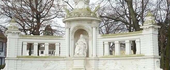 Kaiserin Augusta Denkmal in Koblenz