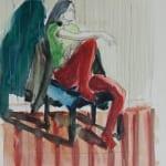 Sitzende - Norbert Tadeusz