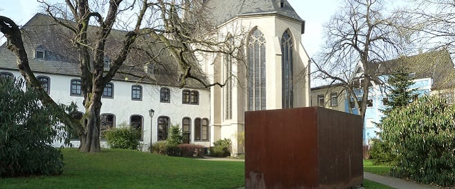 Spiegel-Container Mahnmal in Andernach
