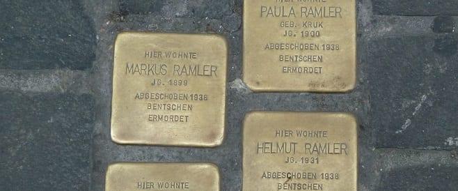 100 Stolpersteine in Koblenz