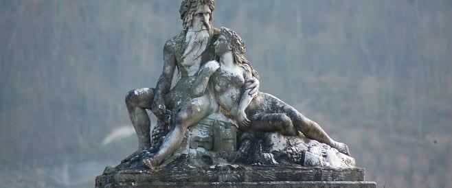 Vater Rhein und Mutter Mosel in Koblenz