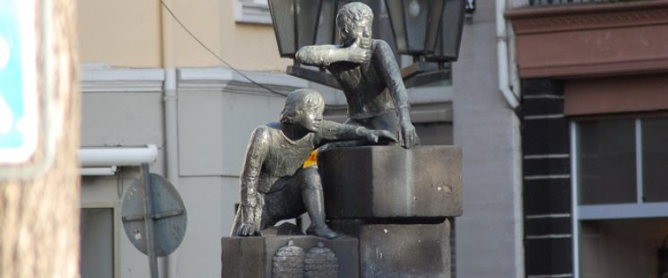 Guta von Freydorf-Stephanow - Bäckerjungenbrunnen