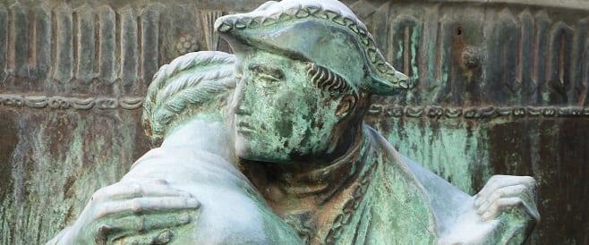 Fastnachtsbrunnen von Georg Grasegger