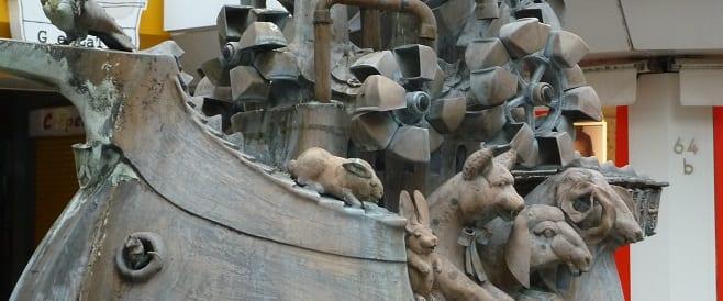 Erfinderbrunnen von Gernot Rumpf