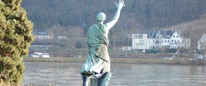 Joseph Görres Denkmal von Richard Langer