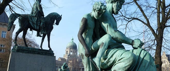 Kaiser-Wilhelm-I-Denkmal von Johannes Schilling