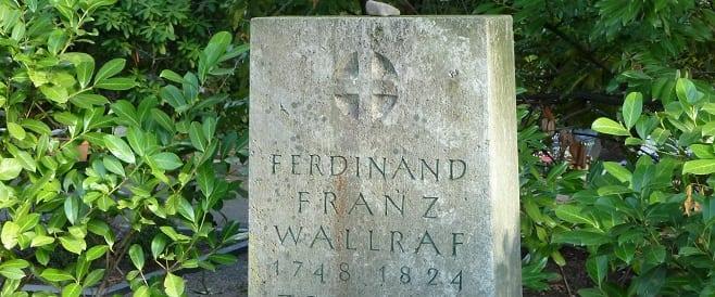 Ferdinand Franz Wallraf -Melatenfriedhof
