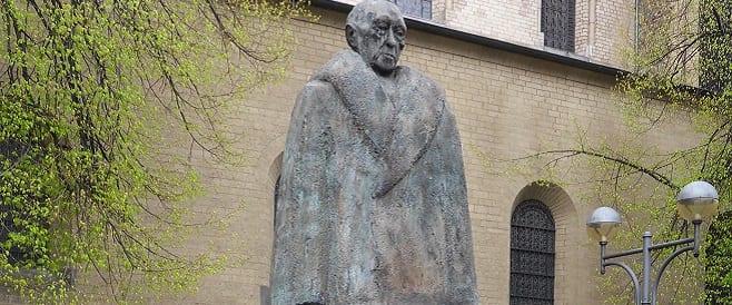 Konrad Adenauer Denkmal von Gerhard Weiland + Hans Wimmer