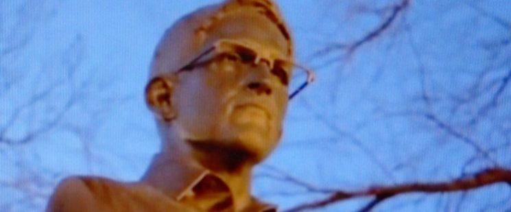 Edward Snowden - Denkmal in New York