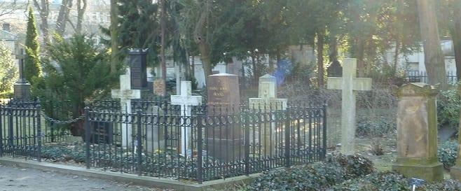 Friedhof am Halleschen Tor - Mendelssohn Gräber