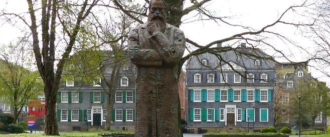 Friedrich Engels - Denkmal in Barmen