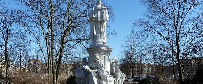 Goethe Denkmal im Berliner Tiergarten