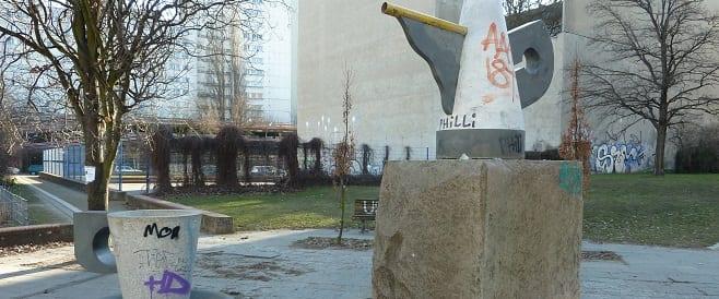 Nichtgeburtstagsbrunnen im Theodor Wolff Park